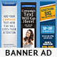 Multipurpose Banner Templates Bundle 1.0 - GraphicRiver Item for Sale