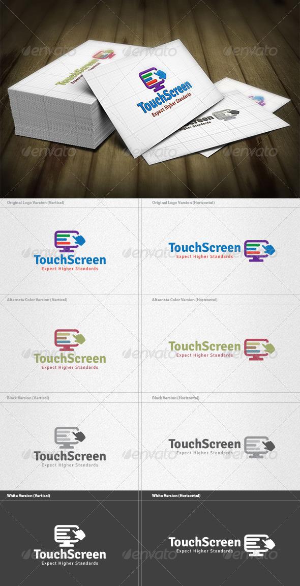 Touch Screen Logo - Symbols Logo Templates