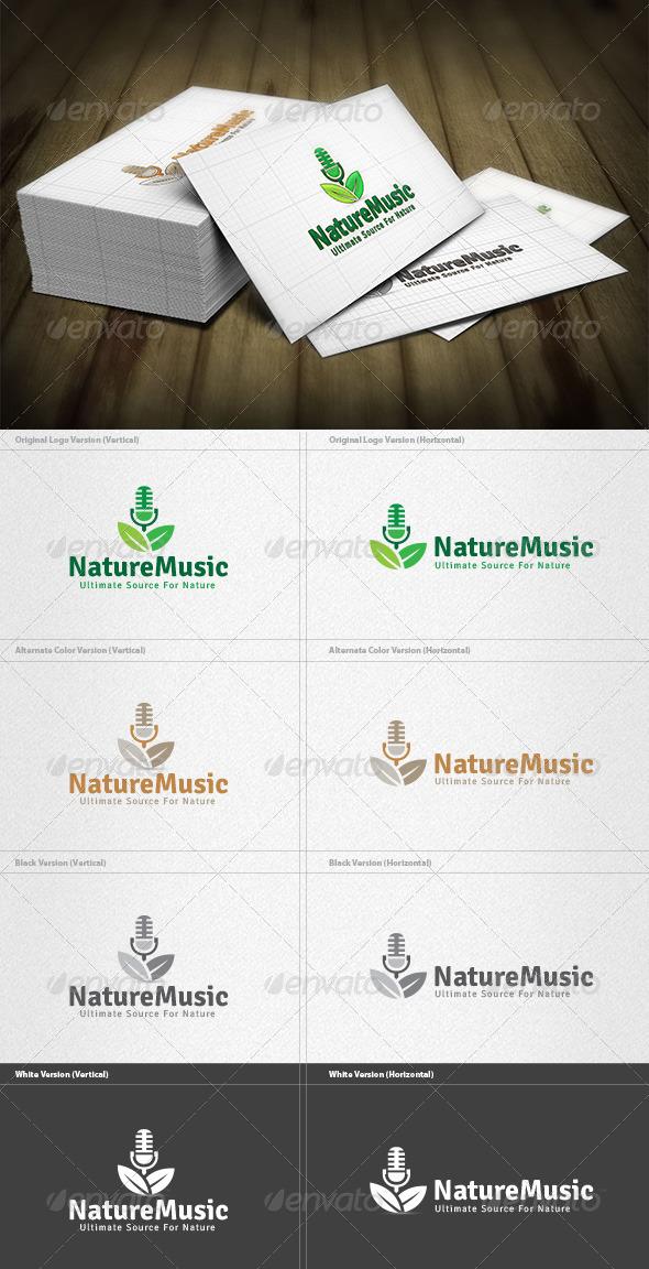 Nature Music Logo - Nature Logo Templates