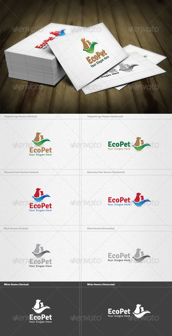 Eco Pet Logo - Animals Logo Templates