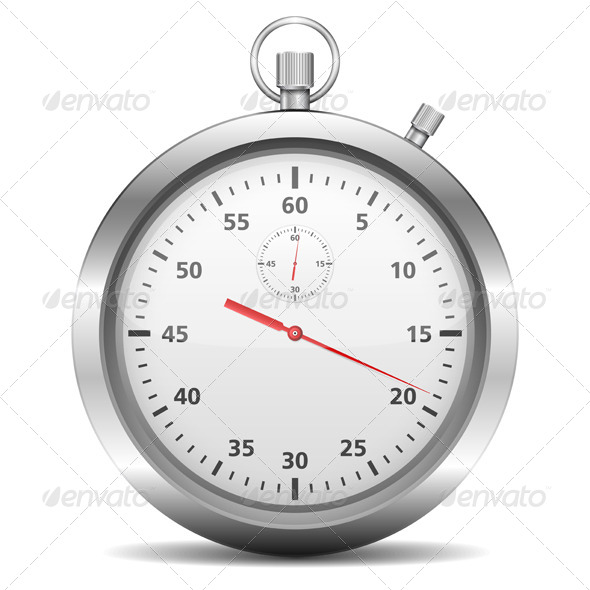 Stopwatch - Objects Vectors