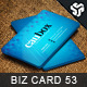Business Card Design 53 - GraphicRiver Item for Sale