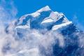 Summit top of Aoraki Mt Cook highest peak of NZ - PhotoDune Item for Sale