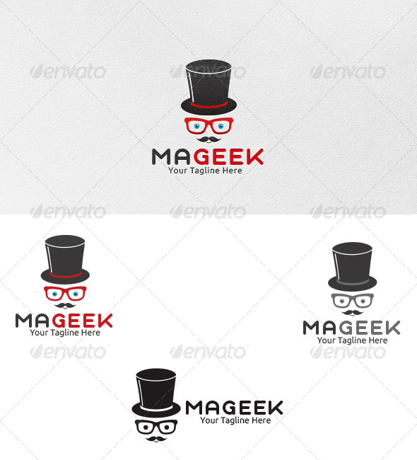 Mageek Logo - Template - Vector Abstract