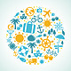 Summer and Vacation Icons - GraphicRiver Item for Sale