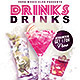 Drinks Flyer Template - GraphicRiver Item for Sale