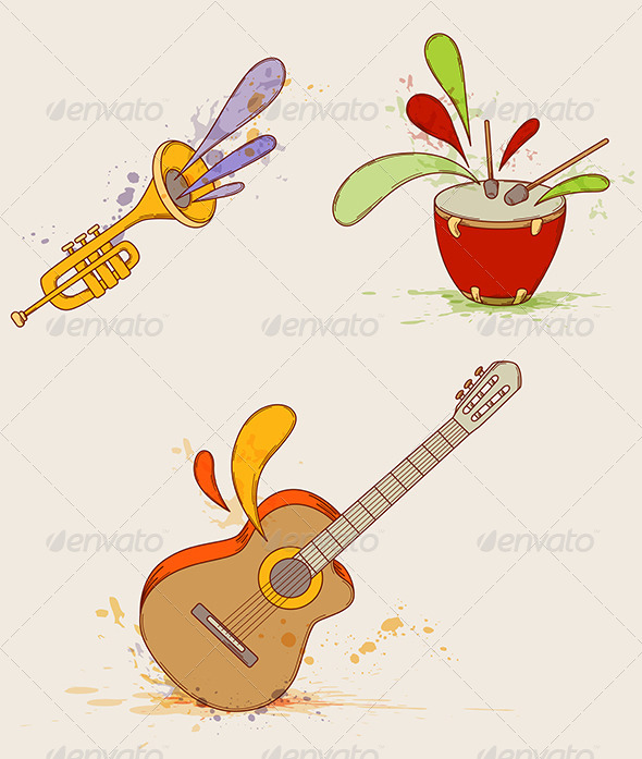 Musical Instruments - Miscellaneous Vectors