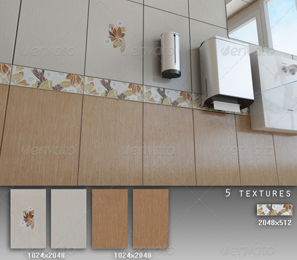 Professional Ceramic Tile Collection C015 - 3DOcean Item for Sale
