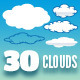 30 Clouds - Pack - GraphicRiver Item for Sale