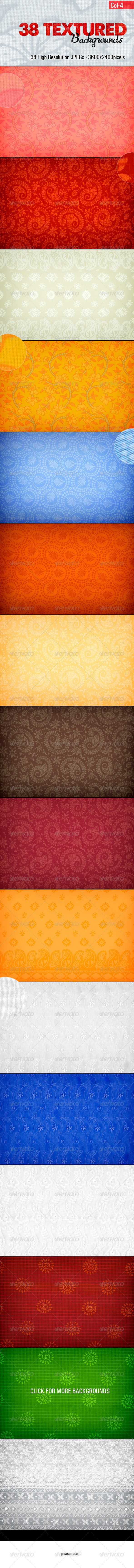 Texture Backgrounds - Collection 4 - Backgrounds Graphics