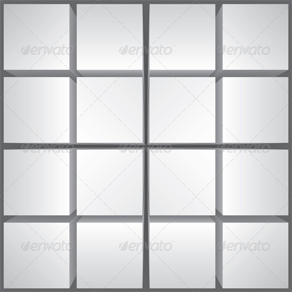 Abstract Background with Cubes in Perspective - Backgrounds Decorative