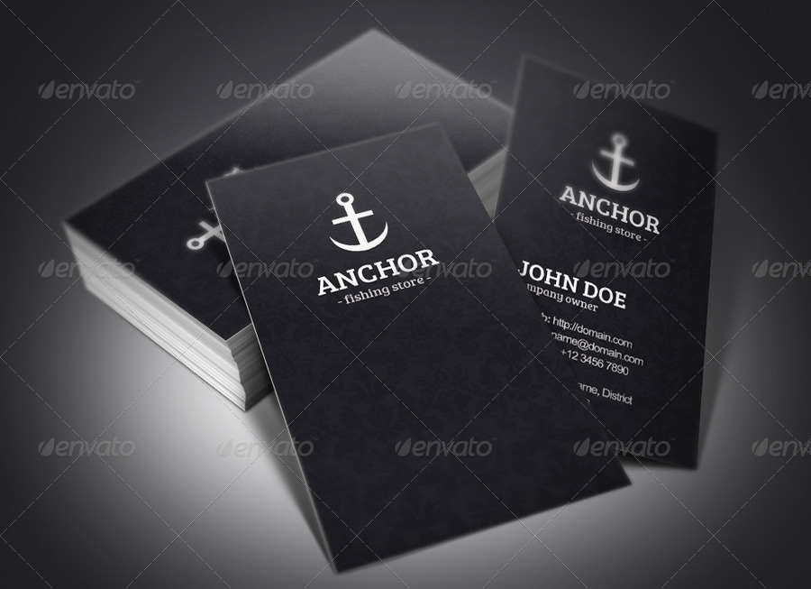 Anchor business cards by rafaeloliveira2 graphicriver anchor business cards colourmoves