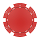 Poker Chip From The Top - GraphicRiver Item for Sale