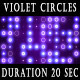 Violet Circles Background - VideoHive Item for Sale