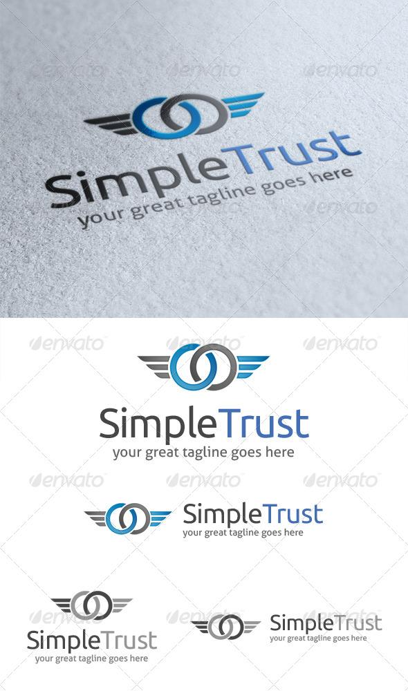 Simple Trust Logo - Symbols Logo Templates