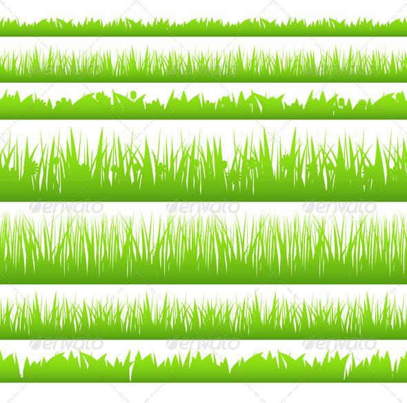 Grass Silhouette - Landscapes Nature