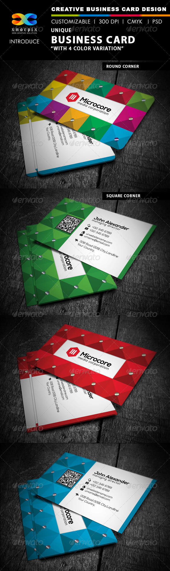 Luxury Business Card - Corporate Business Cards