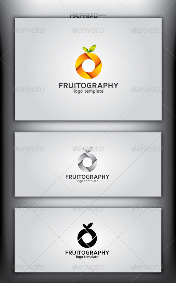 FRUITOGRAPHY Logo Template - Abstract Logo Templates