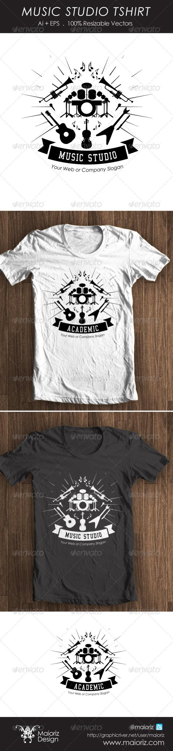 Music Studio Tshirt - Business T-Shirts