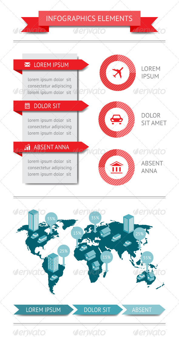 Infographics and Web Elements - Infographics