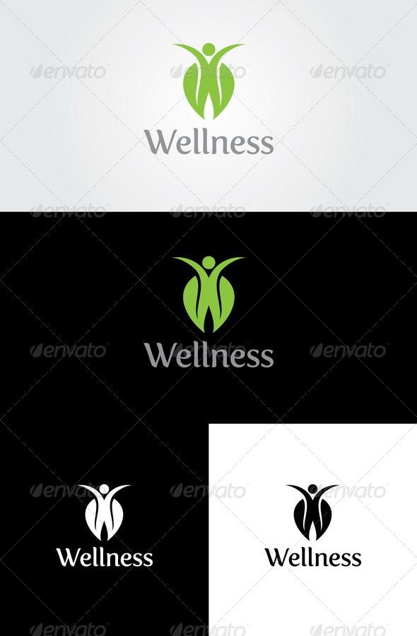 Wellness Logo Template - Nature Logo Templates