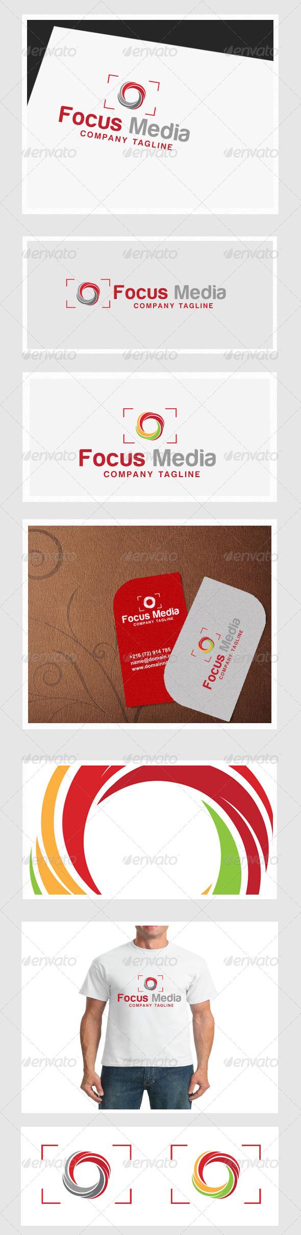 Focus Media  - Symbols Logo Templates