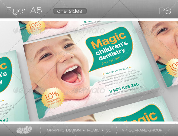 Children's Dentistry - Corporate Flyers