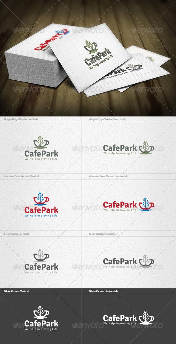 Cafe Park Logo - Food Logo Templates