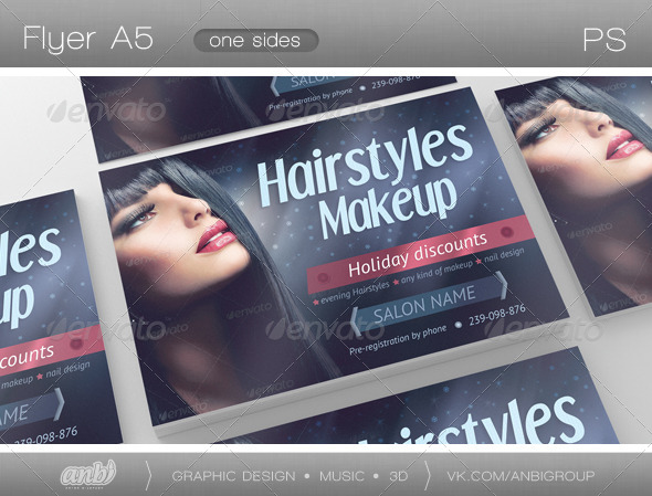 Hairstyles Makeup - Clubs & Parties Events