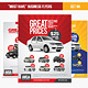 """""""Must Have"""" Business Flyers - Set 05 Car Services - GraphicRiver Item for Sale"""