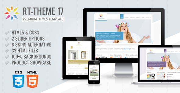 RT-Theme 17 Premium HTML5 Template - Business Corporate
