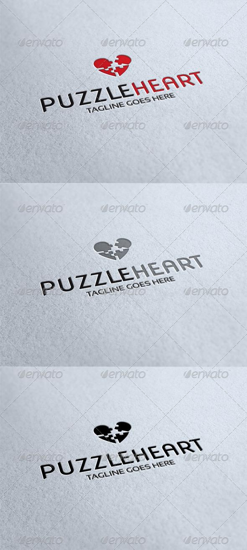 Puzzleheart Logo - Humans Logo Templates