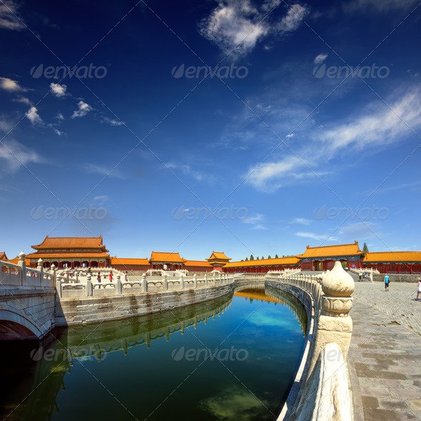 The Forbidden City - Stock Photo - Images