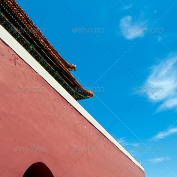 forbidden city detail - Stock Photo - Images