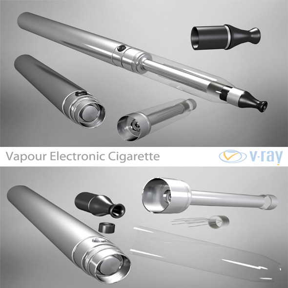 Vapour Electronic Cigarette - 3DOcean Item for Sale