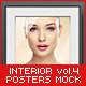 Interior Posters Mock-Up Vol. 4 - GraphicRiver Item for Sale
