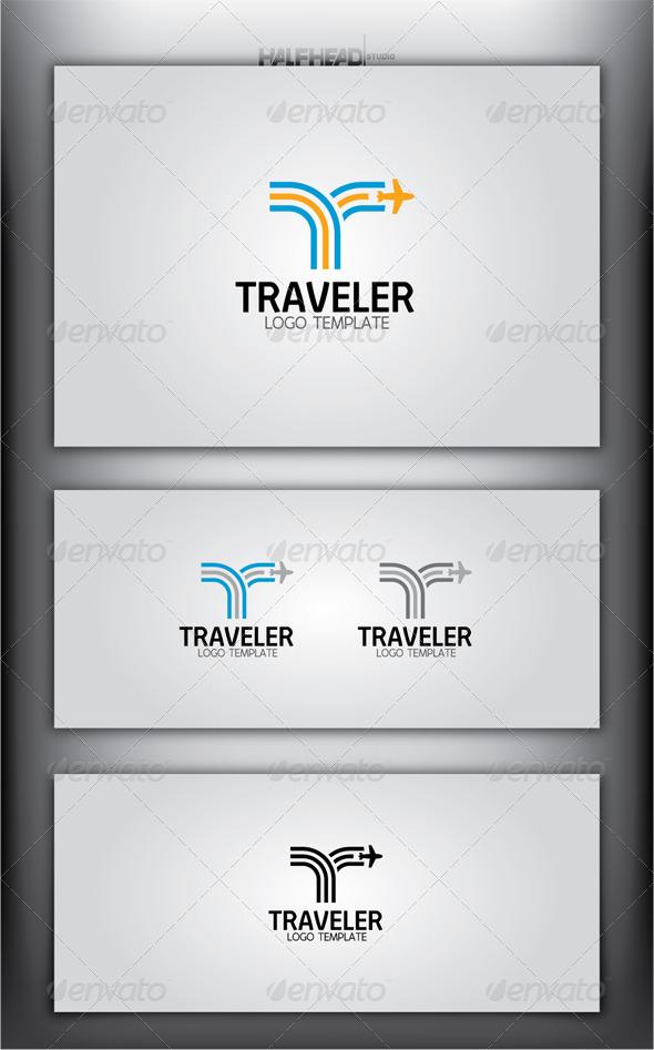 TRAVELER Logo Template - Letters Logo Templates