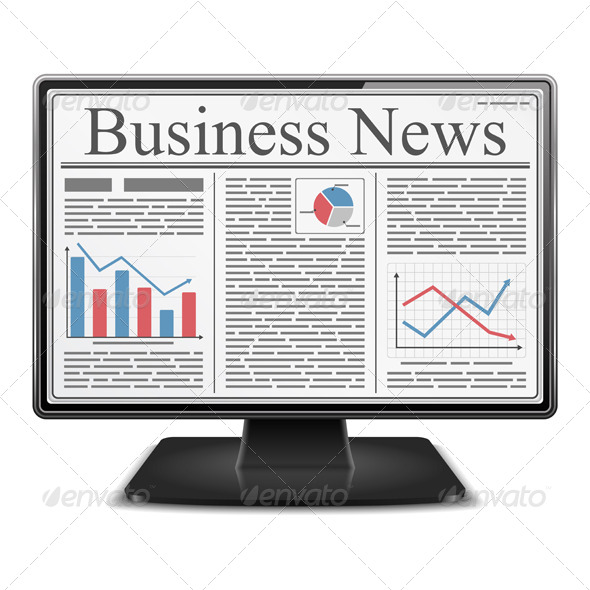 Business News in Computer - Business Conceptual