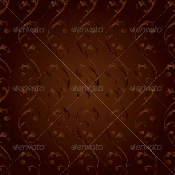 Vintage Floral Seamless Pattern   - Backgrounds Decorative