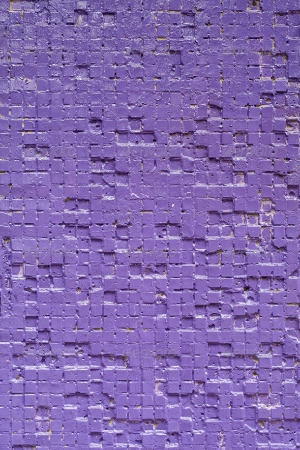 Vintage lilac background brickwall - Stone Textures