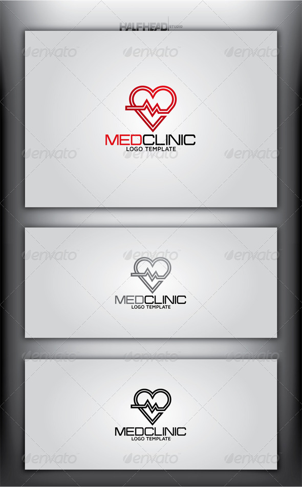 MEDCLINIC Logo Template - Symbols Logo Templates