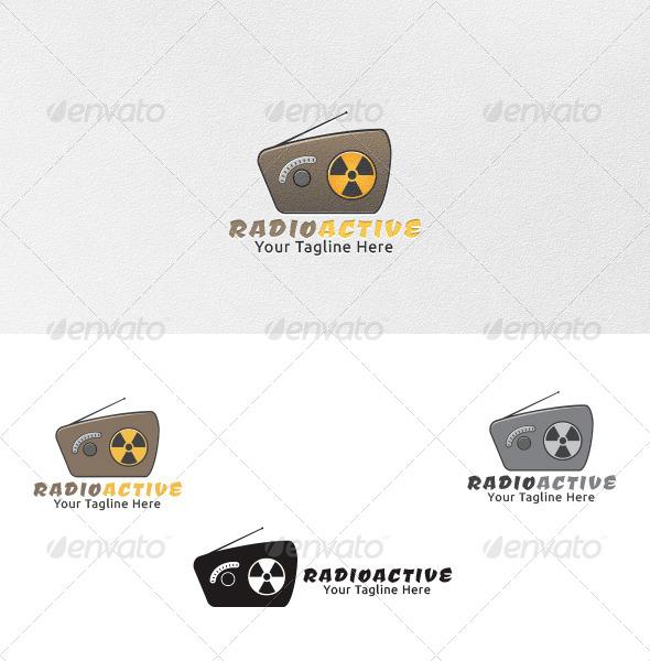 Radioactive - Logo Template - Symbols Logo Templates