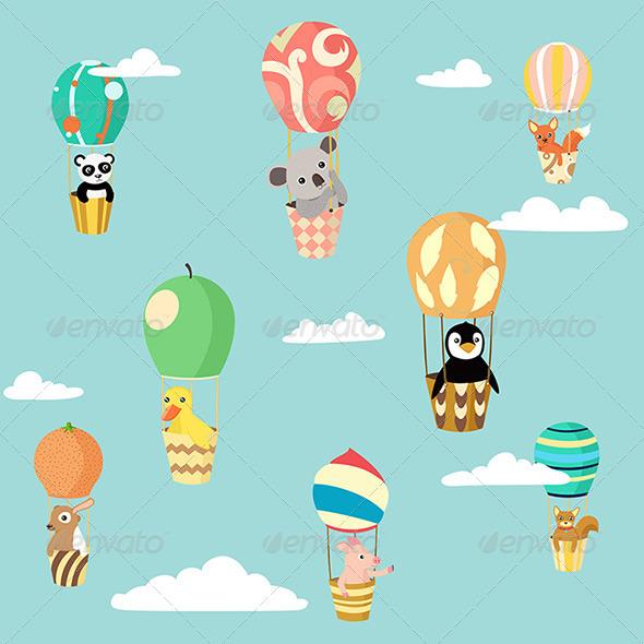 Balloons Animals - Animals Characters
