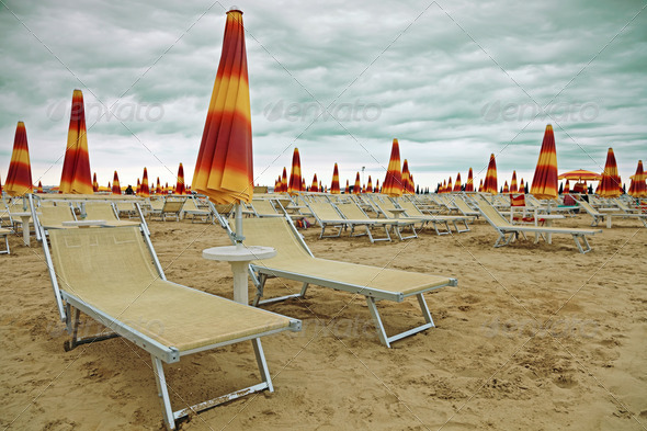 empty beach - Stock Photo - Images