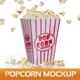Popcorn Mockup - GraphicRiver Item for Sale