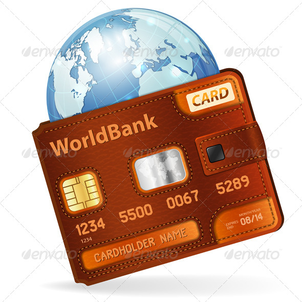 World Credit Card Concept - Concepts Business