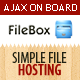 FileBox - Simple File Hosting Script