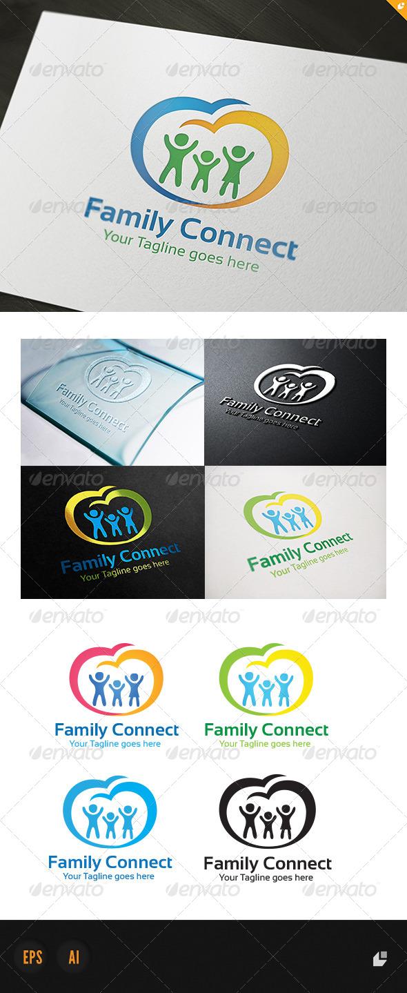 Family Connect Logo - Humans Logo Templates