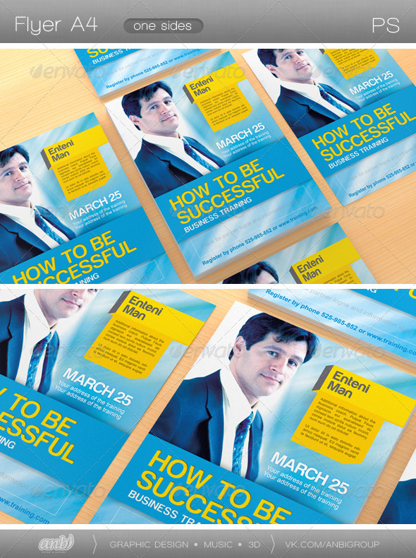 How to be Successful - Corporate Flyers