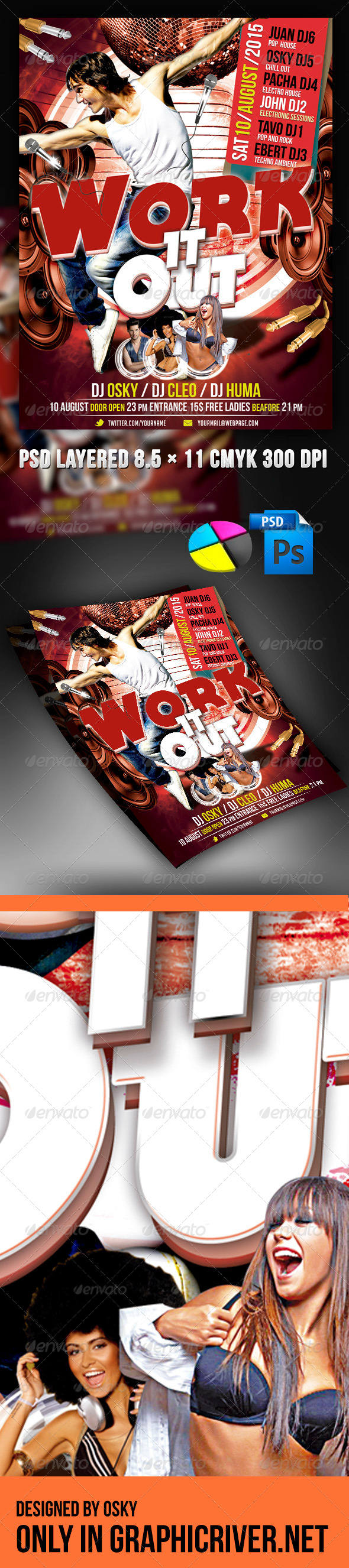 Work It Out - Clubs & Parties Events